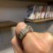One&Only Jewellery スワロフスキー クリスタル ベルトリング 指輪 K18GP ホワイトゴールド レビュー&感想